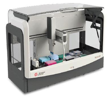 Figure 1A. Beckman Coulter Biomek 4000 Workstation