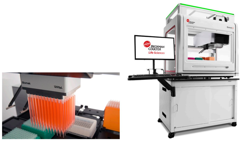 Biomek i5 Multichannel 96 Genomics Workstation