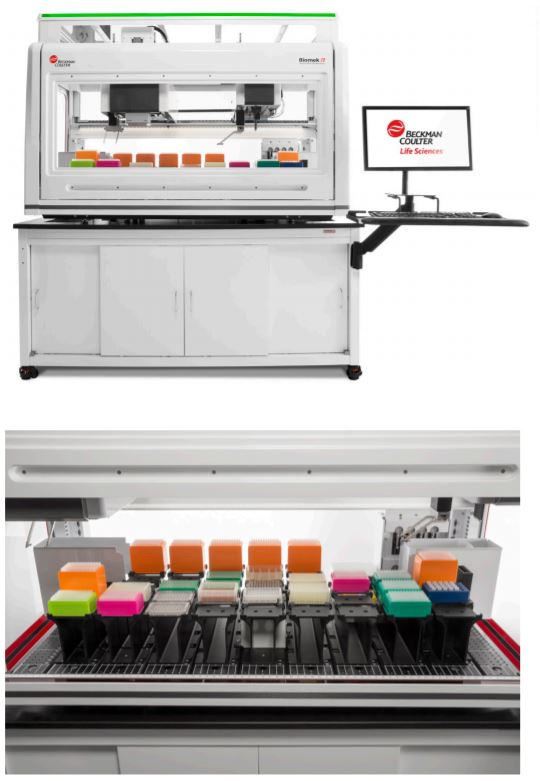 Spotlight: Biomek i7 Dual Hybrid Genomics Workstation