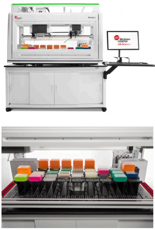 Biomek i7 Hybrid Genomics Workstation