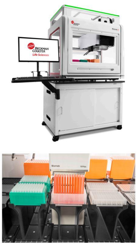 Biomek i5/i7 Multichannel Genomics Workstations