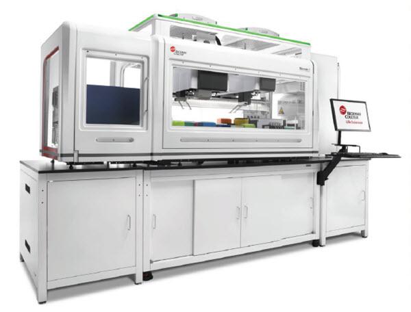 Biomek i7 hybrid with integrations