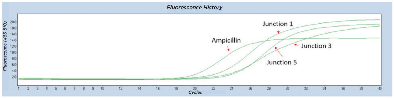 fig7 Nanoliter Scale DNA Assembly Utilizing the NEBuilder HiFi Cloning Kit with the Echo 525 Liquid Handler