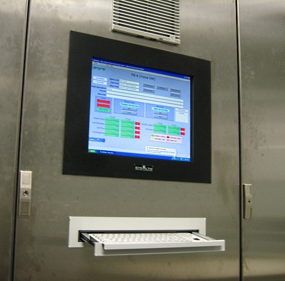 Operator workstation in Grade B