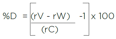 manual calculations average toc response for measurements of sucrose validation standard