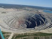 Nchanga Copper Mine, Zambia