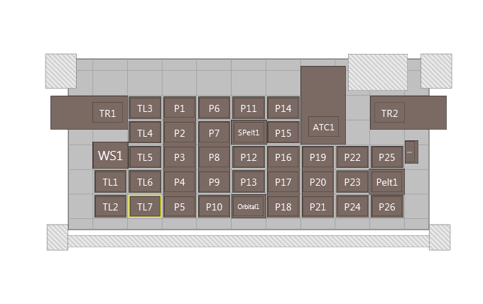 Figure 1. Biomek i7 Genomics Workstation