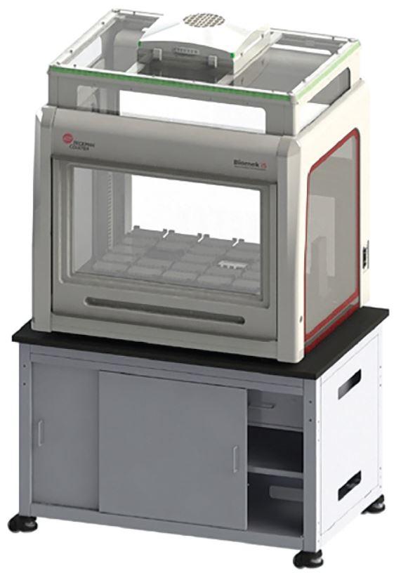 Nota de aplicación de automatización de Biomek i5, Figura 1