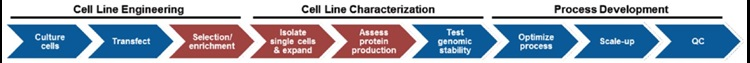 Automation Application Note Automating Cell Line Development Figure 1