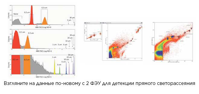 Clasificador de dispersión frontal MoFlo Astrios EQ