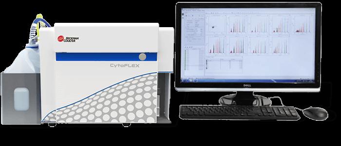 CytoFLEX Flow Cytometer Flat Front View