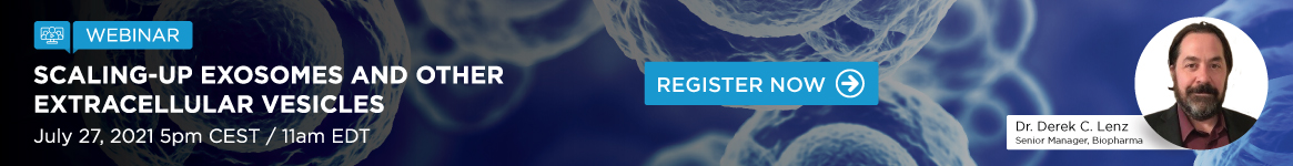 Scaling-Up Exosomes and other Extracellular Vesicles Webinar