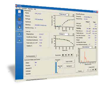 vi-cell xr software bioreactor data