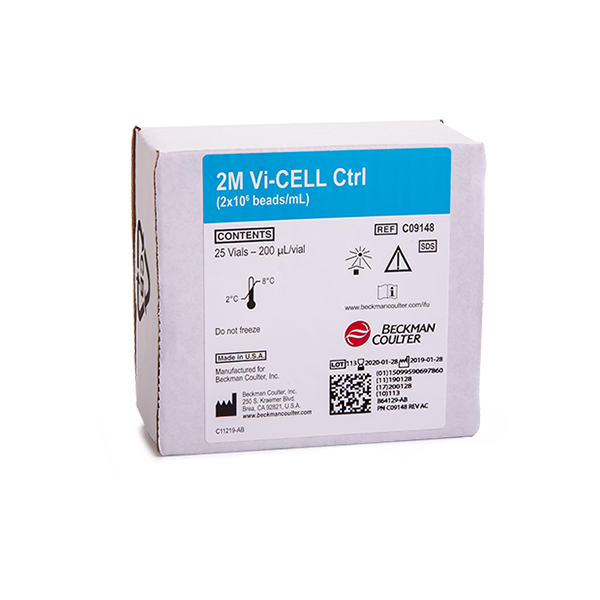 Vi-CELL BLU 2.0M Single-Use Concentration Control (20 Vials)