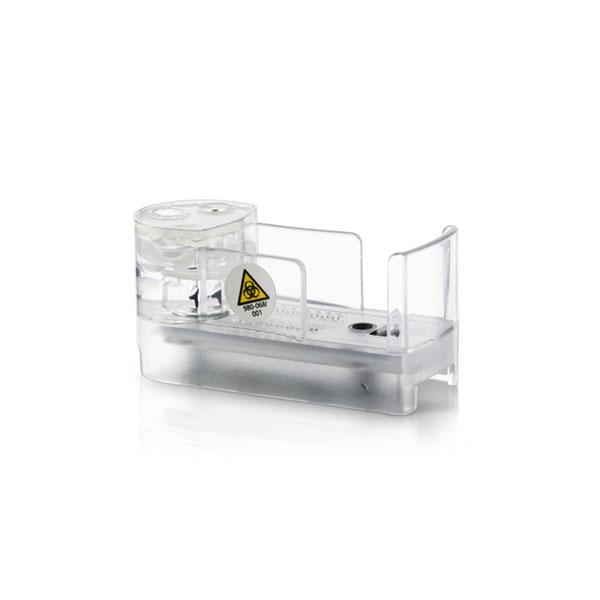 Detail of the MetaFLEX sensor cassette