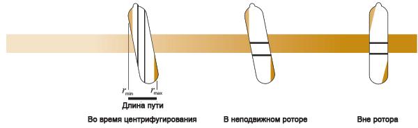 Разделение частиц в почти вертикальном роторе