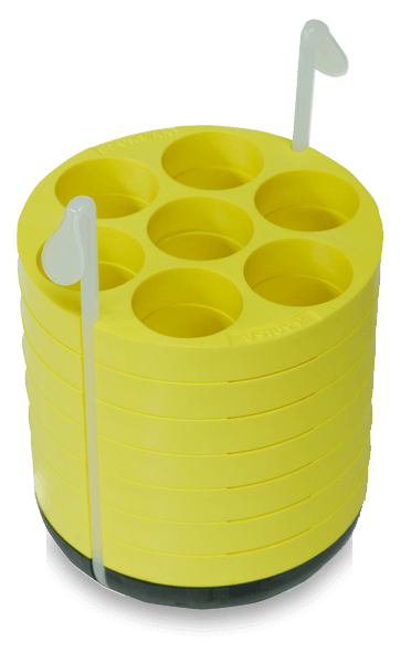 29mm Adapter Polypropylene Tube Assembly for Multi-Disc , Quantity of Two