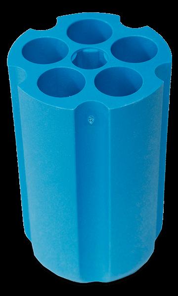 18mm Diameter Polypropylene Tube Round, Bottom Adapter—Quantity of One