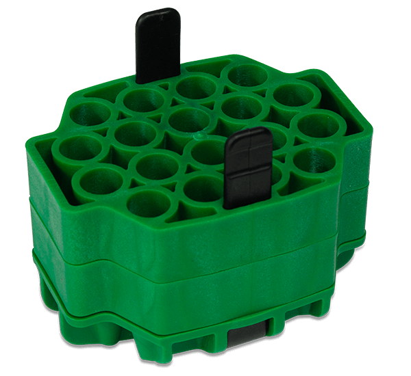 17mm Diameter Polypropylene Tube Adapter Assembly, Quantity of Four