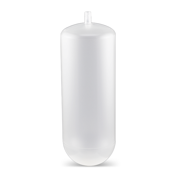 100 mL, Quick-Seal Round Top Polypropylene Tube, 38 x 102mm - 25Pk