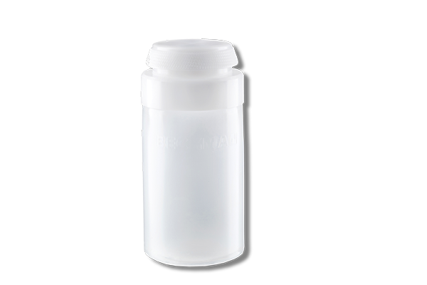 250 mL, Polypropylene Bottle Assembly, 60 x 120 mm - 1Pk