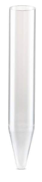 10 mL, Open-Top Thinwall Polypropylene Konical Tube, 14 x 89mm - 50Pk