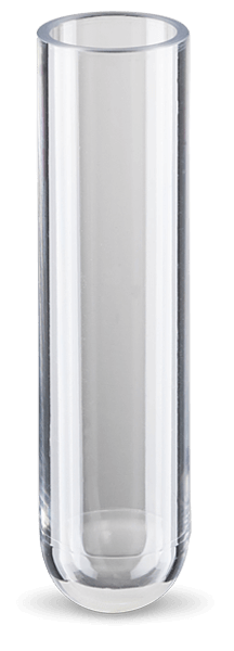 3 mL, Open-Top Thickwall Polycarbonate Tube, 11 x 60mm - 25Pk