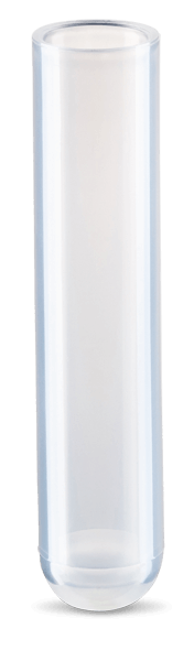 3 mL, Open-Top Thickwall Polypropylene Tubes, 11 x 60mm - 25Pk