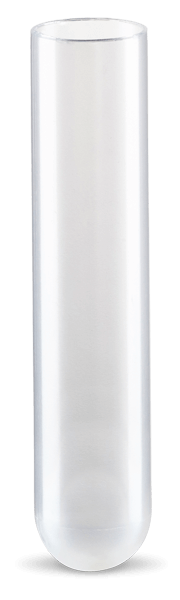 6.5 mL, Open-Top Thinwall Polypropylene Tube, 13 x 64mm - 50Pk