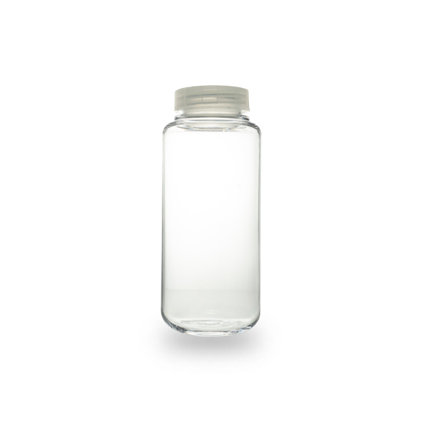 500 mL, Polycarbonate Bottle with Cap Assembly, 69 x 160mm - 6Pk