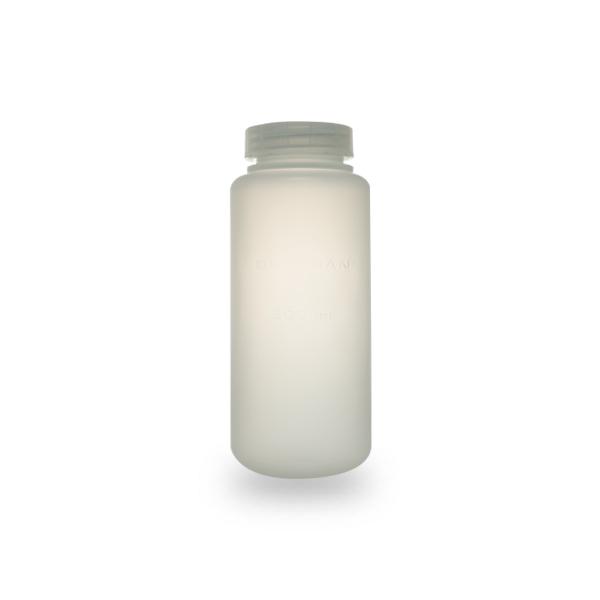 500 mL, Polypropylene Bottle with Cap Assembly, 69 x 160mm - 6Pk