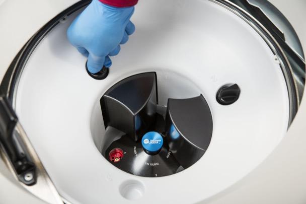 Ротор для аналитической ультрацентрифуги Optima AUC, вид сверху