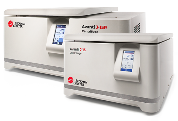Avanti J-15 Series High Speed Benchtop Centrifuges