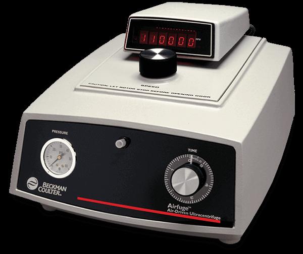 Airfuge Air-Driven Ultracentrifuge