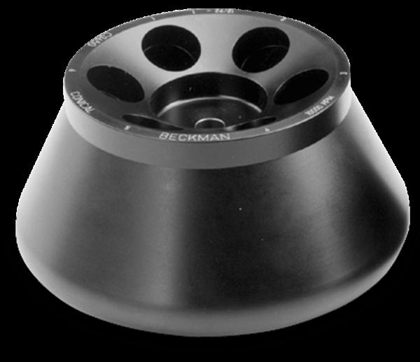 C0650 Fixed-Angle Conical Tube Rotor, Aluminum