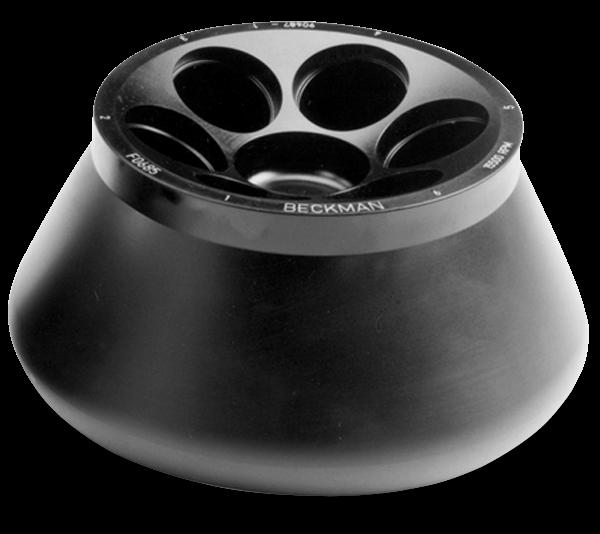 F0685 Fixed-Angle Aluminum Rotor 6 x 85 mL, 10,000 rpm, 10,864 x g