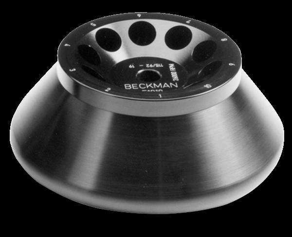 F1010 Fixed-Angle Aluminum Rotor 10 x 10 mL, 26,000 rpm, 57,440 x g