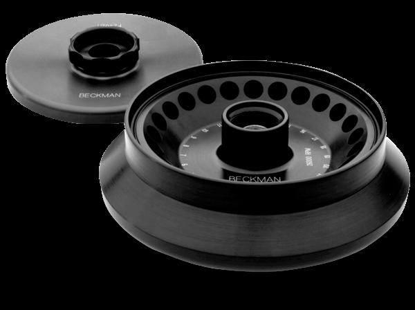 F2402H Biocontainment Rotor, Aluminum- 24 x 2.0 mL, 26,000 rpm, 61,970 x g