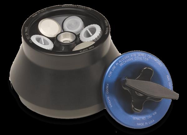 FX6100 Fixed-Angle Aluminum Rotor- 6 x 100 mL, 10,200 rpm, 11,400 x g