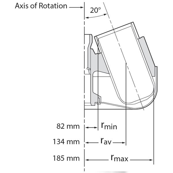 High Speed Fixed Angle J Lite JLA 91000 Rmax