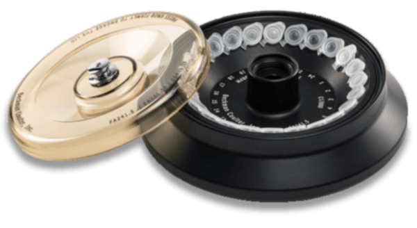 FA241.5 Fixed-Angle Aluminum Rotor with Polyphenylsulfone Screw-On Lid