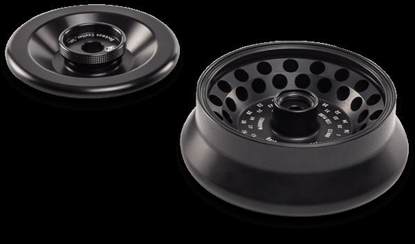 FA361.5 Fixed-Angle Aluminum Rotor with Bio-Certified Lid