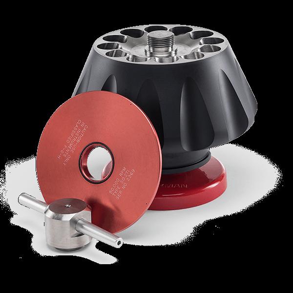Type 50.2 Ti Fixed-Angle Rotor, 50.000 rpm, 302.000 x g, 12 x 39 mL