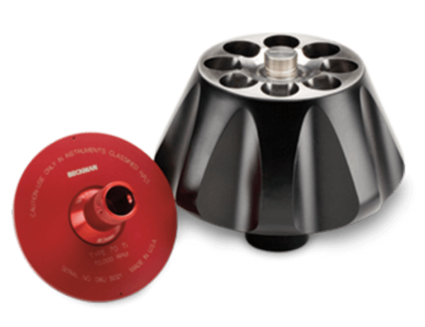 Type 70 Ti Fixed-Angle Titanium Rotor