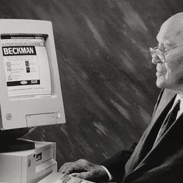 Arnold Beckman社のウェブサイト