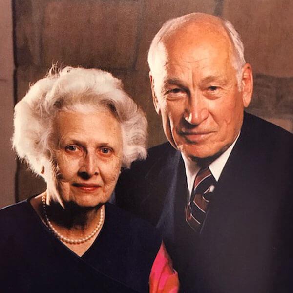 Retrato de Arnold y Mabel Beckman
