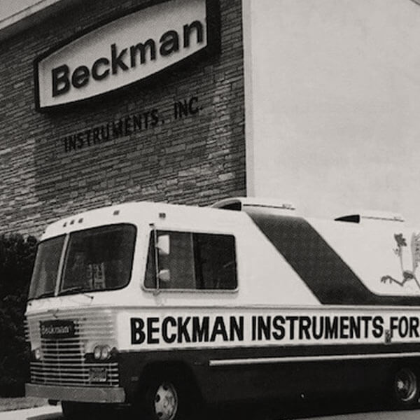 A traveling exhibit of Beckman Instrument