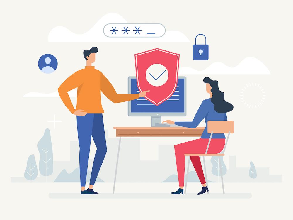 User Security Illustration