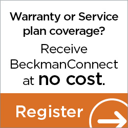Receive Beckman Connect at no cost. Register.