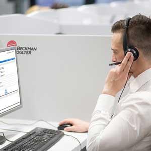 BeckmanConnect Registration Customer Service